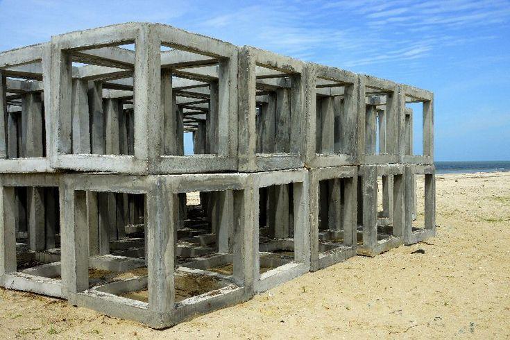 Barriere artificiali costituite da strutture modulari componibili. Generalmente sono strutture modulari composte di più unità elementari di piccole dimensioni più facili da trasportare e mettere in opera, fanno eccezione le barriere costituite da relitti navali o di piattaforme petrolifere. Questi moduli si possono unire in modo ordinato, spesso in piramidi, oppure disseminati casualmente sul fondale. I moduli solitamente hanno forme complesse, ricche di cavità e sporgenze che creano…
