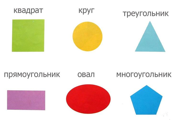 shapes in Russian