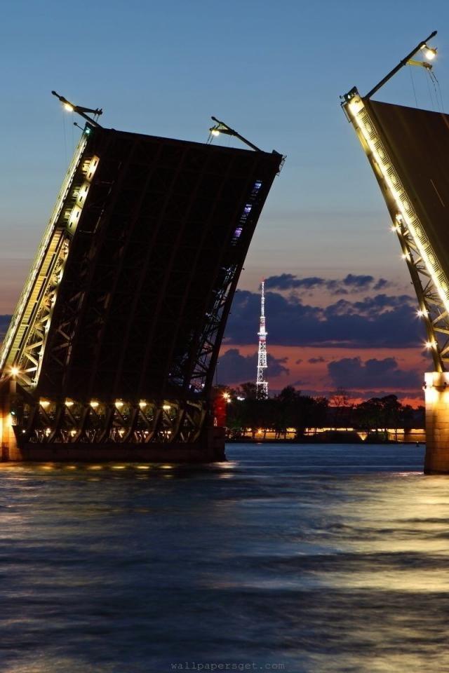 Drawbridge, Saint Petersburg, Leningrad Oblast, Russia  www.liberatingdivineconsciousness.com