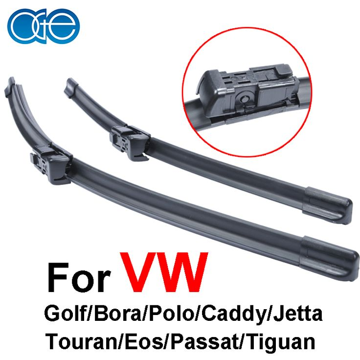 OGE wipers for car prices For VW golf/Bora/Polo/caddy/jetta/Touran/Eos/Passat/Tiguan rubber strip,Car accessories.buttons