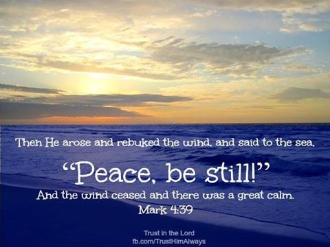 Peace Be Still | virtuous ♥ women