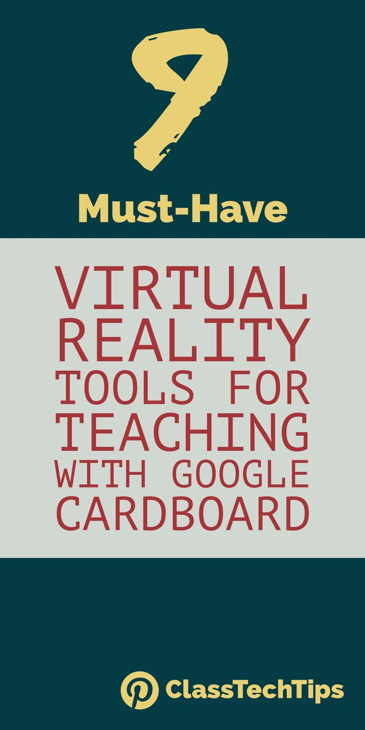 Virtual reality tools for teaching with Google Cardboard! Are you using virtual reality in you classroom? Click here for tips for Google Cardboard with students.