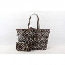 Goyard Saint Louis Tote Bag MM Coffe