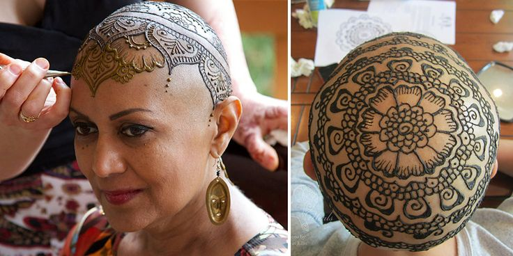 Elegant Henna Tattoo Crowns Help Cancer Patients Cope With Their Hair Loss