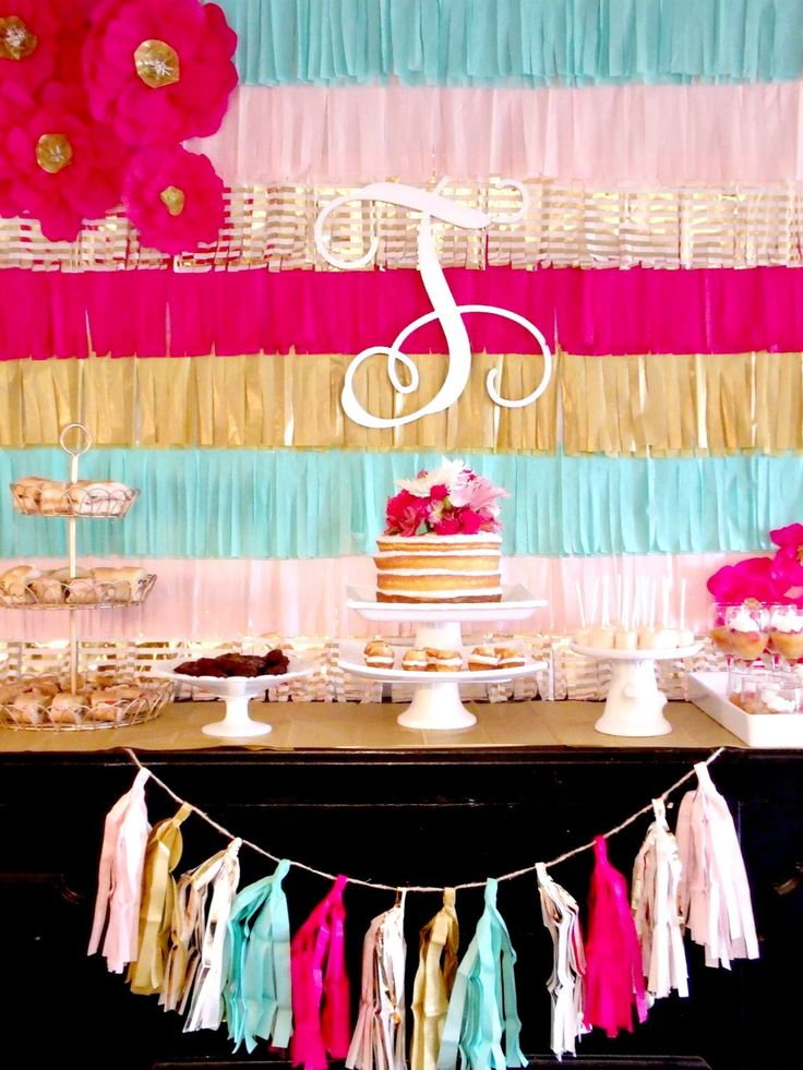 Cultivate create diy fringe party backdrop 2016 bday for Party backdrop ideas