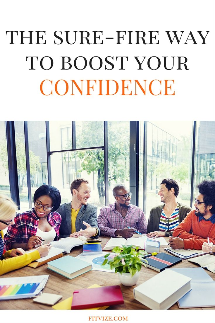 Confident people are more trustworthy. This could be a great benefit during work negotiations, when looking for employment, or when closing deals. Confident (but not cocky) people transmit the message of success and appeal to our core wish to succeed in spheres that matter to us. On the flip side, why would we trust a person who doesn't believe in his/her own competences and abilities? So find out 5 confidence boosters at https://fitvize.com/2016/08/01/five-confidence-boosters-you...