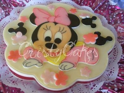 Cristy's Cakes: Baby Minnie / Minnie Bebé