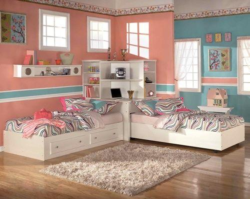 Decoração de quarto para irmãs: 14 ideias para sonhar! http://www.mildicasdemae.com.br/2014/04/decoracao-de-quarto-para-irmas-14-ideias-para-sonhar.html