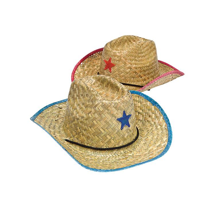 24.00 dozen Adult's Cowboy Hats With Star. There's a new