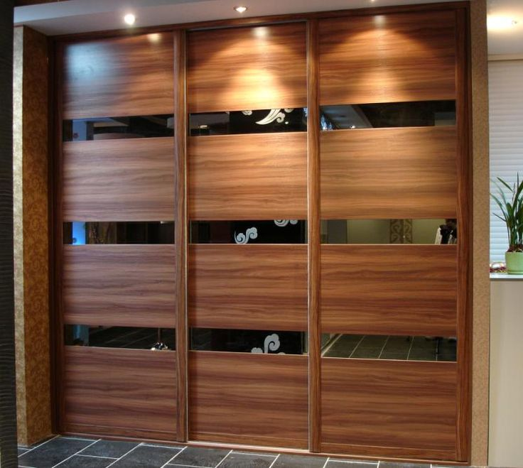 19 best images about wardrobe designs on pinterest walk for Wooden sliding doors