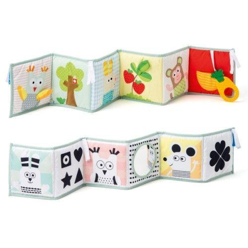 Livre évolutif en tissu 3 en 1 Taf Toys pour enfant dès la naissance - Oxybul éveil et jeux
