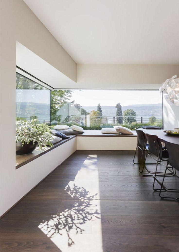 Home Design, Modern House Design, Modern Interior Design, Interior And Exterior, Design Ideas, Modern Houses, Design Design, Modern Lofts, Kitchen Interior