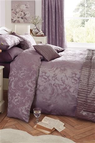 Buy Mauve Jacquard Bed Set from the Next UK online shop
