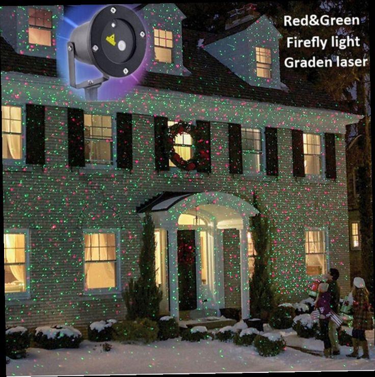 52.91$  Watch now - http://alid7l.worldwells.pw/go.php?t=32485011243 - Waterproof IP65 Outdoor Christmas Light RG Elf Laser Projector Garden Landscape Decorative lights