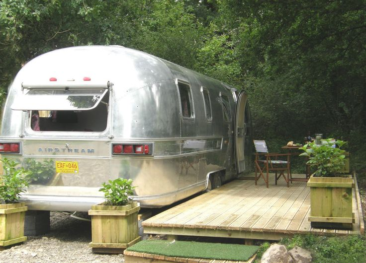 Glamping in Wales , Airstream, Yurts, Pagoda, Towy Valley, Brecon Beacons