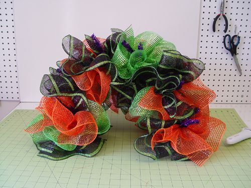 mailbox-cover-halloween deco mesh ribbon