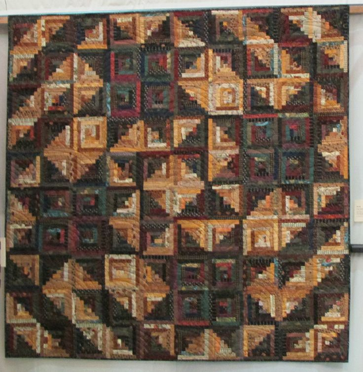 385 Best Images About Log Cabin Quilts On Pinterest
