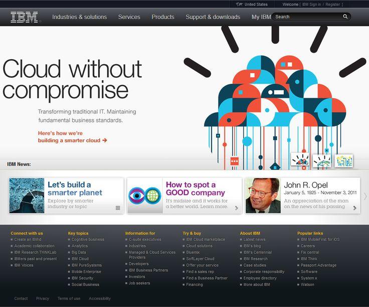 IBM website in 2011