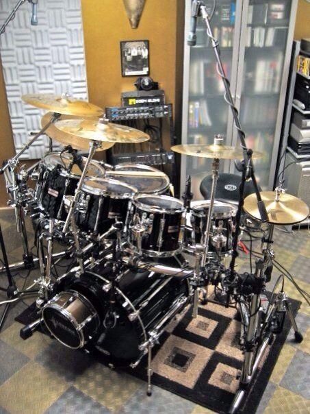 Yamaha Custom Recording with Dunnett Titanium Snare