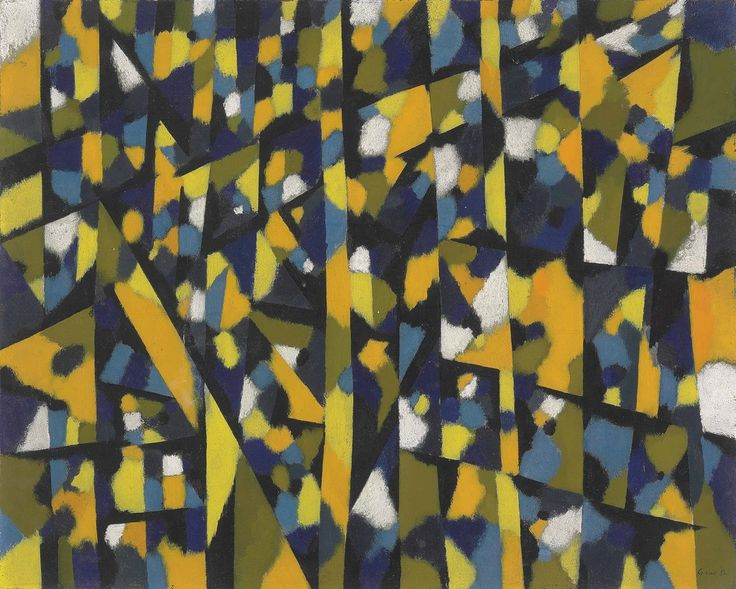 thunderstruck9:  William Gear (Scottish, 1915-1997), Summer afternoon, 1952. Oil on canvas, 64.8 x 60.3 cm.