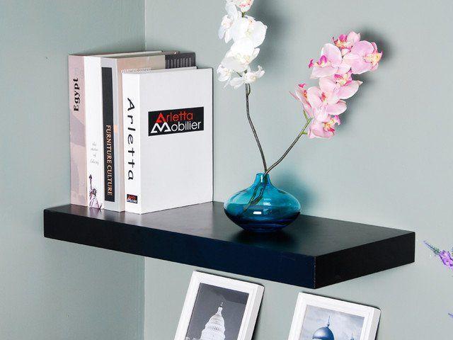 Black Wall Shelves best 25+ black floating shelves ideas on pinterest | floating