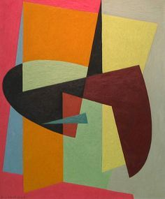 Abstract Shapes, 1950 S Abstract, Abstract Art, Art Design, Geometric Abstract, Art Abstract, Art Galleries, Birger Carlstedt Finland