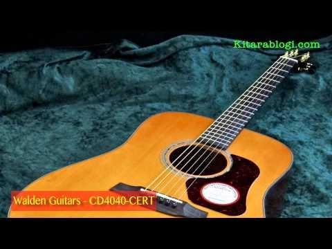 Walden Guitars CD4040-CERT *** Kitarablogi