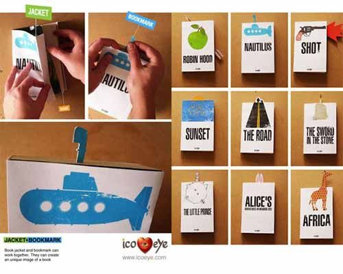 bmark 031 print not dead 25 creative bookmark designs saved on may 2012 am - Bookmark Design Ideas