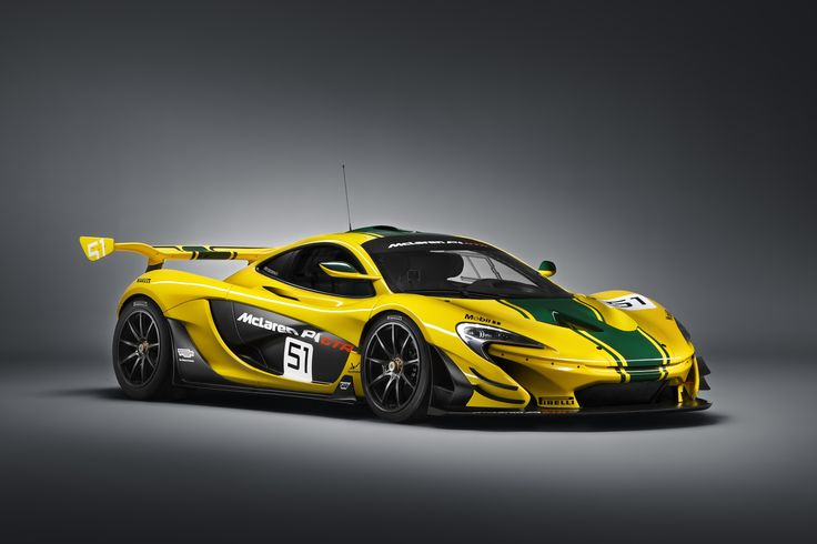 The track-dedicated McLaren P1 GTR, based on the McLaren P1 road car,has gone from concept to track in just a few months, the McLaren P1 GTR weighs 110 lb less.
