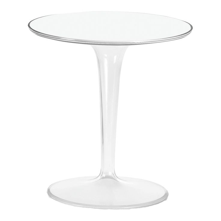 Tip Top Side Table   Crystal