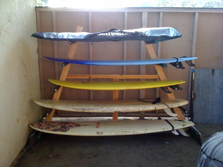 Homemade Surfboard Rack Homemade Surfboard Rack And