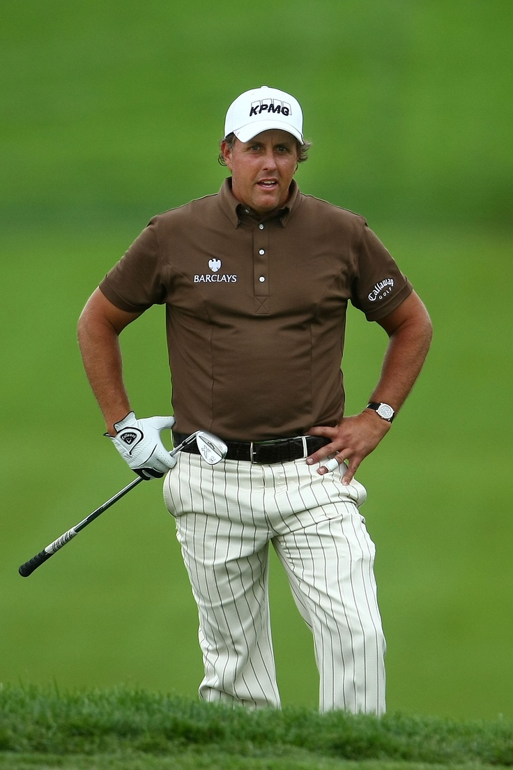 Phil Mickelson striped pants?? Phil Mickelson