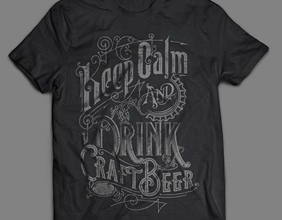 "Check out new work on my @Behance portfolio: ""KEEP CALM AND DRINK CRAFT BEER handlettered design"" http://be.net/gallery/37763045/KEEP-CALM-AND-DRINK-CRAFT-BEER-handlettered-design"