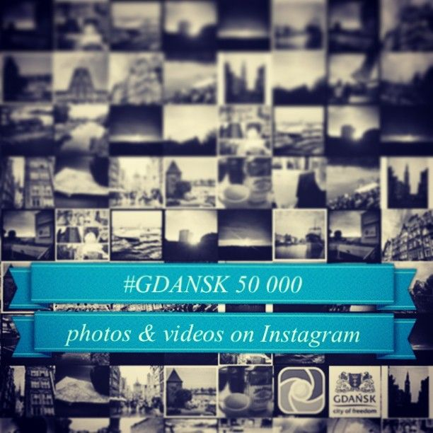 What a day! #Gdańsk is one of the most popular cities in #Poland. On #Instagram too! You published 50000 #photos and #videos on Instagram. ...
