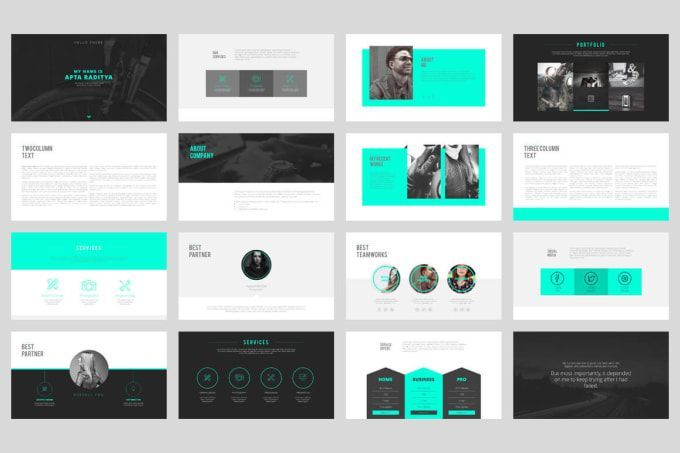 Design Whitepaper Or Proposal Or Report Powerpoint Templates