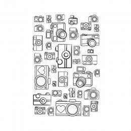 Silikonová razítka / Snap Background | Silikonová razítka | Razítka | POMŮCKY (strojky, vykrajovátka, textury, nástroje atd.) | eShop | Polymerová hmota, kurzy fimo, eshop – Nemravka