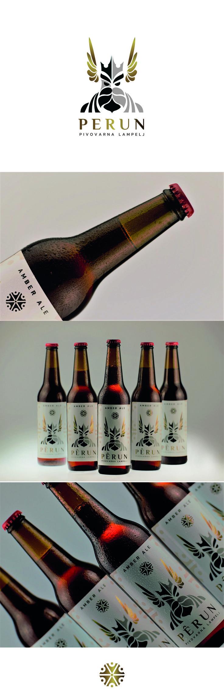 Perun beer - beer packaging design