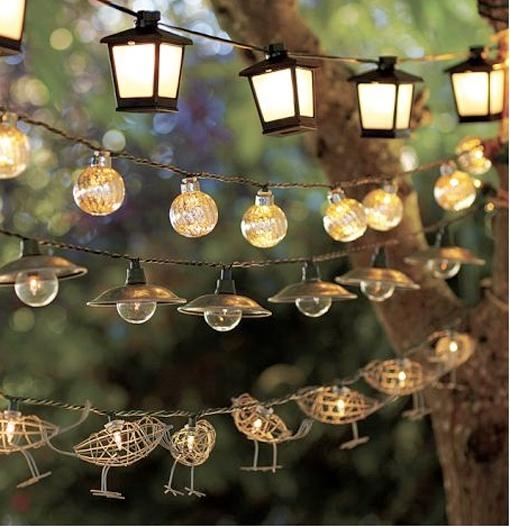 Las 25 mejores ideas sobre luces de la noche en pinterest for Luces colgantes para jardin