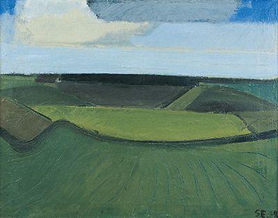 Grønt landskab, 1938