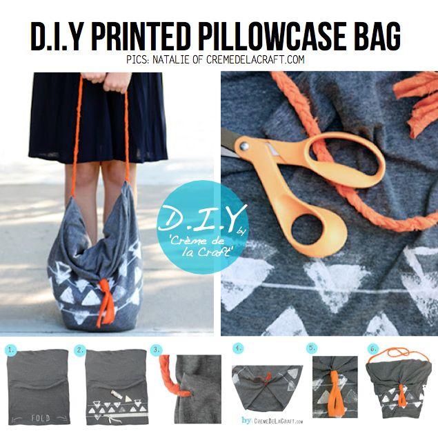 Diy Bag Out Of Pillowcase: Best 25+ Pillowcase bag ideas on Pinterest   Pillow case crafts    ,