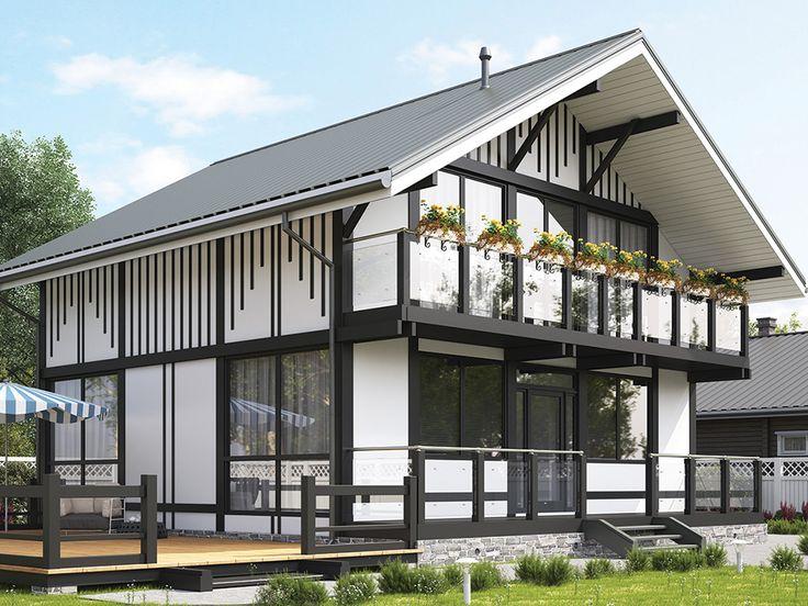 Фахверк своими руками - строительство современных каркасных фахверковых домов