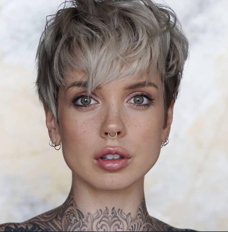 58 Hottest Shaved Side Short Pixie Haircuts Ideas For Woman In 2019 – Page 33 of 58