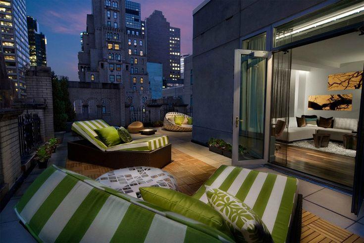 New York rooftop, yep