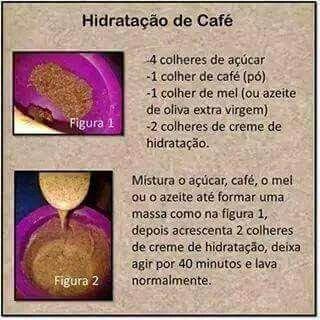 Hidrataçao de cafe