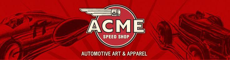 Acme speed shop banner