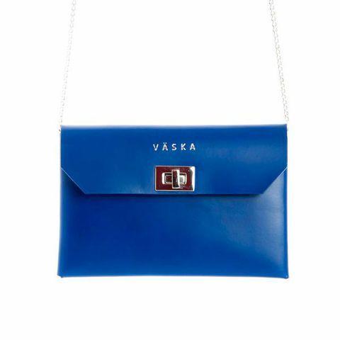 Väska leather bag.  http://shop.yalo.fi/search/?q=mimi