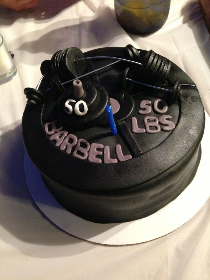 Weight Plate Cake Sweets Amp Things Pinterest Weights