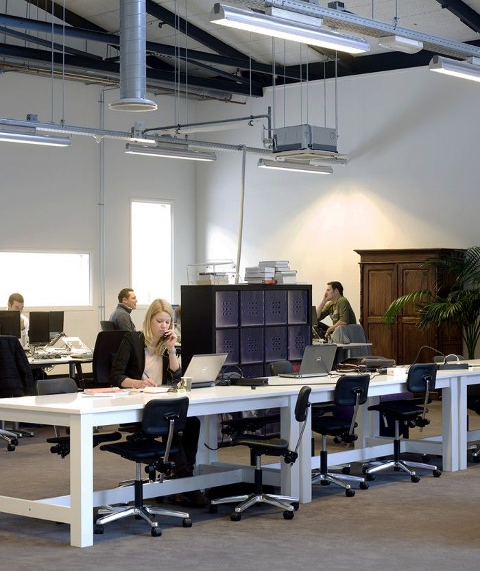 25 best ideas about warehouse office space on pinterest for Open space office