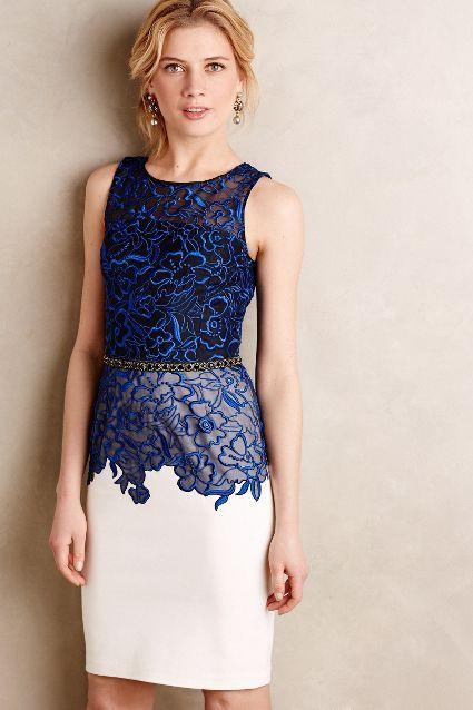 Cristata Lace Dress - anthropologie.com