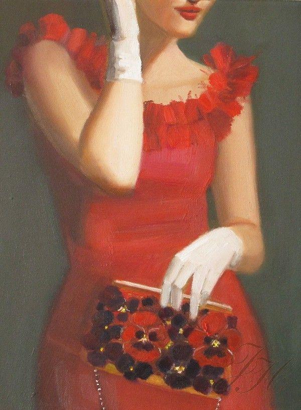 Piwonie + Brass: i serce twoje sztuki: Janet Hill